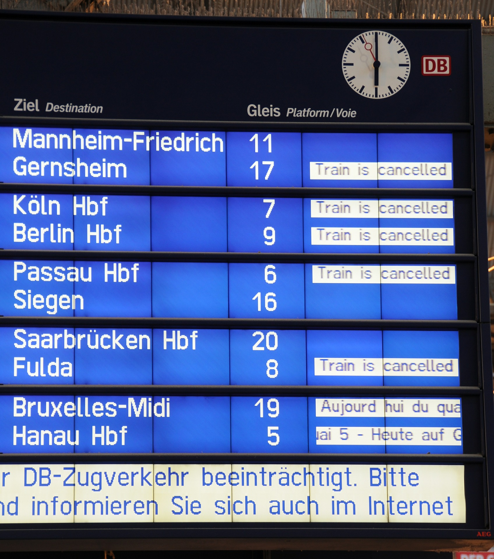 Bahn-Streik Abstimmung - ist die Maßnahme angemessen?