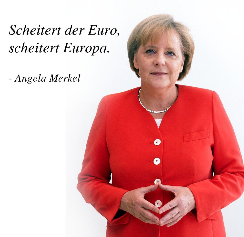 Angela Merkel - Zitate von der ersten Bundeskanzlerin