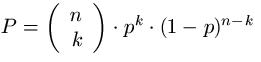 Bernoulli Formel