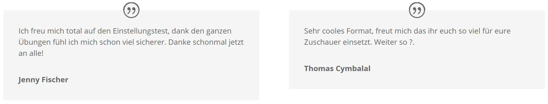 ➤ bundeswehr eignungstest - kostenlos online üben und test bestehen!, Einladungen