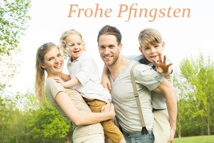 Pfingsmontag - Pfingstgrüße und nette Sprüche zu Pfingsten