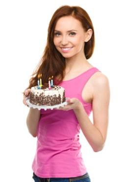 Geburtstagssprüche nach Jahren sortiert - schön und lustig
