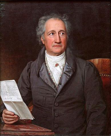 Johann Wolfgang von Goethe Zitate und Gedichte