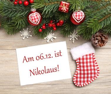 Nikolaus Geschichte - Sprüche und Gedichte