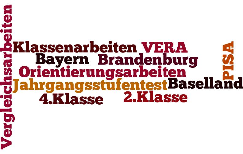 Orientierungsarbeiten in Bayern, Brandenburg und Baselland