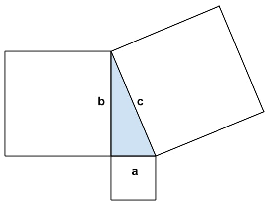 Pythagoras Formeln und Aufgaben online