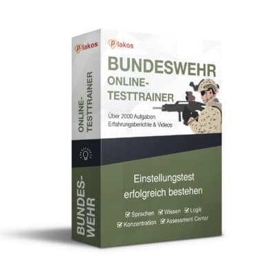 Bundeswehr Eignungstest - Online Training + App
