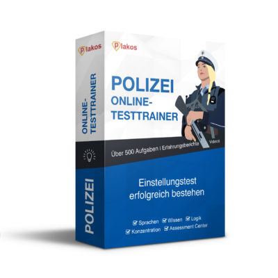 Polizei Einstellungstest - Online Training + App