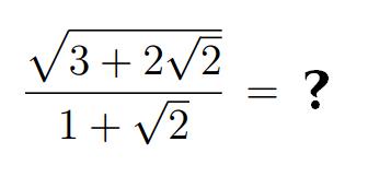Lösen Sie die Gleichung auf.