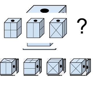 Welcher Würfel passt zur Abbildung oben? (Würfel Nr.15)