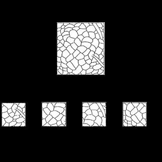 Welcher Ausschnitt passt in das Muster?