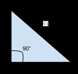 Berechnen Sie die Fläche eines rechtwinkligen Dreiecks bei einer Seitenlänge a = 5 cm, b = 8 cm.