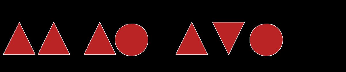 Welche Zahl symbolisiert das nach oben gerichtete Dreieck?
